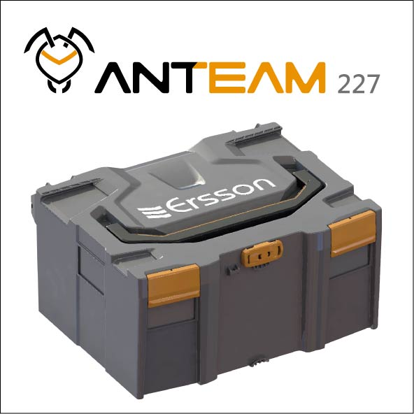 ANTEAM 227 Stackable case